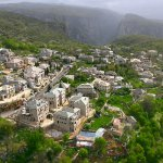 The beautiful village of Monodendri